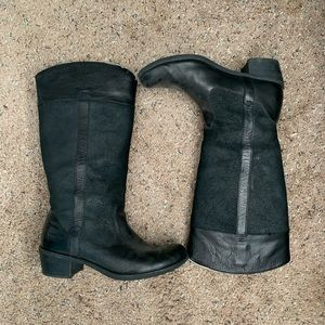 Women's UGG size 8 tall black riding boots